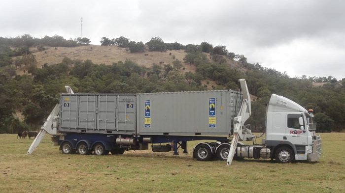 Sales photo of Reef Group Truck in big Western Australian field