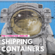 Blog graphic for top 3 creative uses for shipping containers in Australia